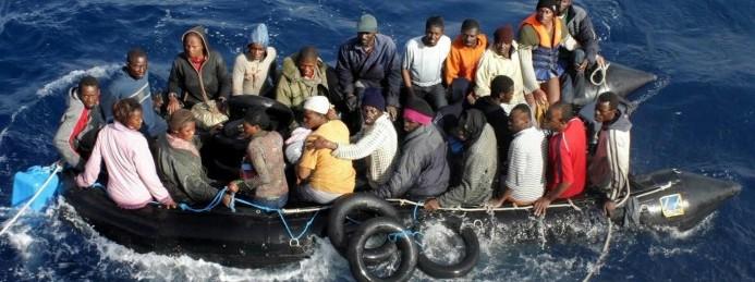 Profughi in mare