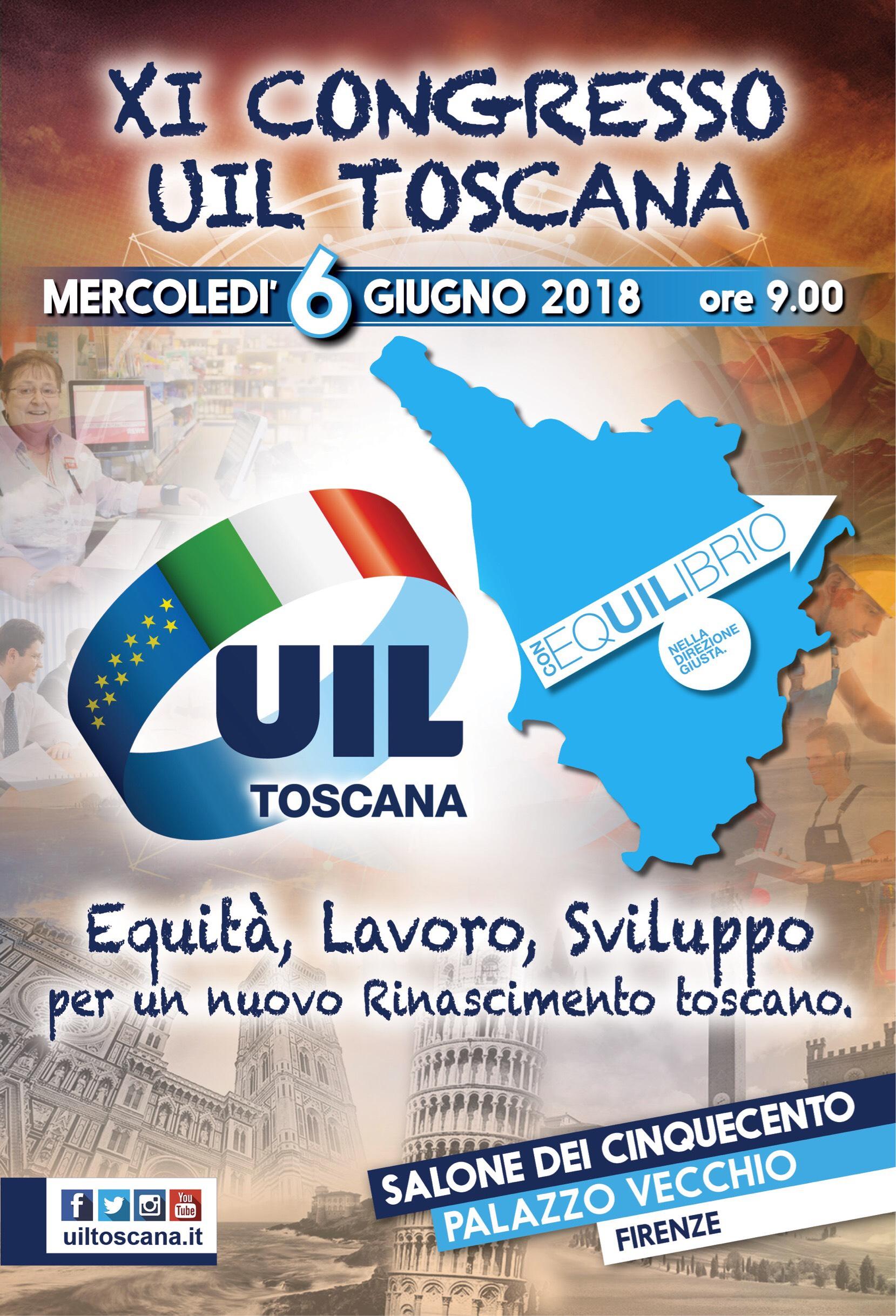 XI Congresso UIL Toscana